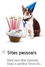 Sites pessoais