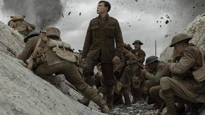 1917 é um filme de guerra que carrega a urgência de um mundo em paz