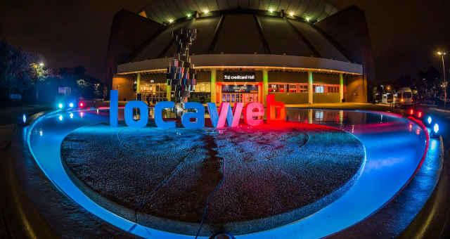 Festa de 20 anos da Locaweb no CredicardHall