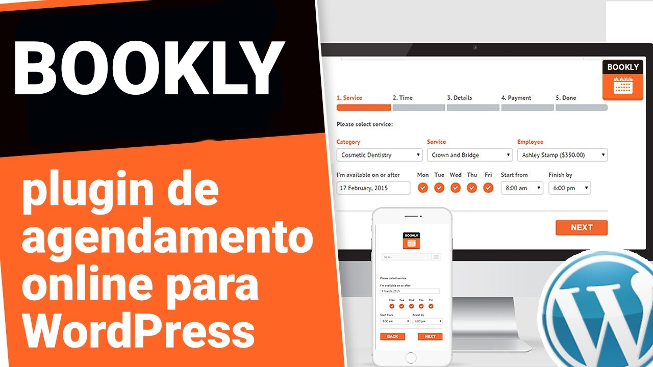 Bookly – Plugin de agendamento Online WordPress