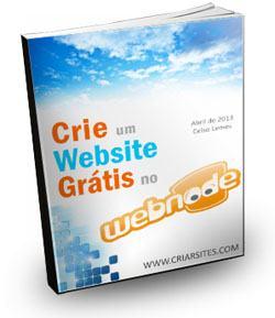 E-Book Grátis Webnode - Como Criar um Site Grátis Passo a Passo
