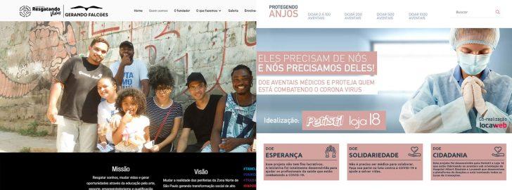 O Instituto Resgatando Vidas e a iniciativa Protegendo Anjos são apoiadas pela Locaweb