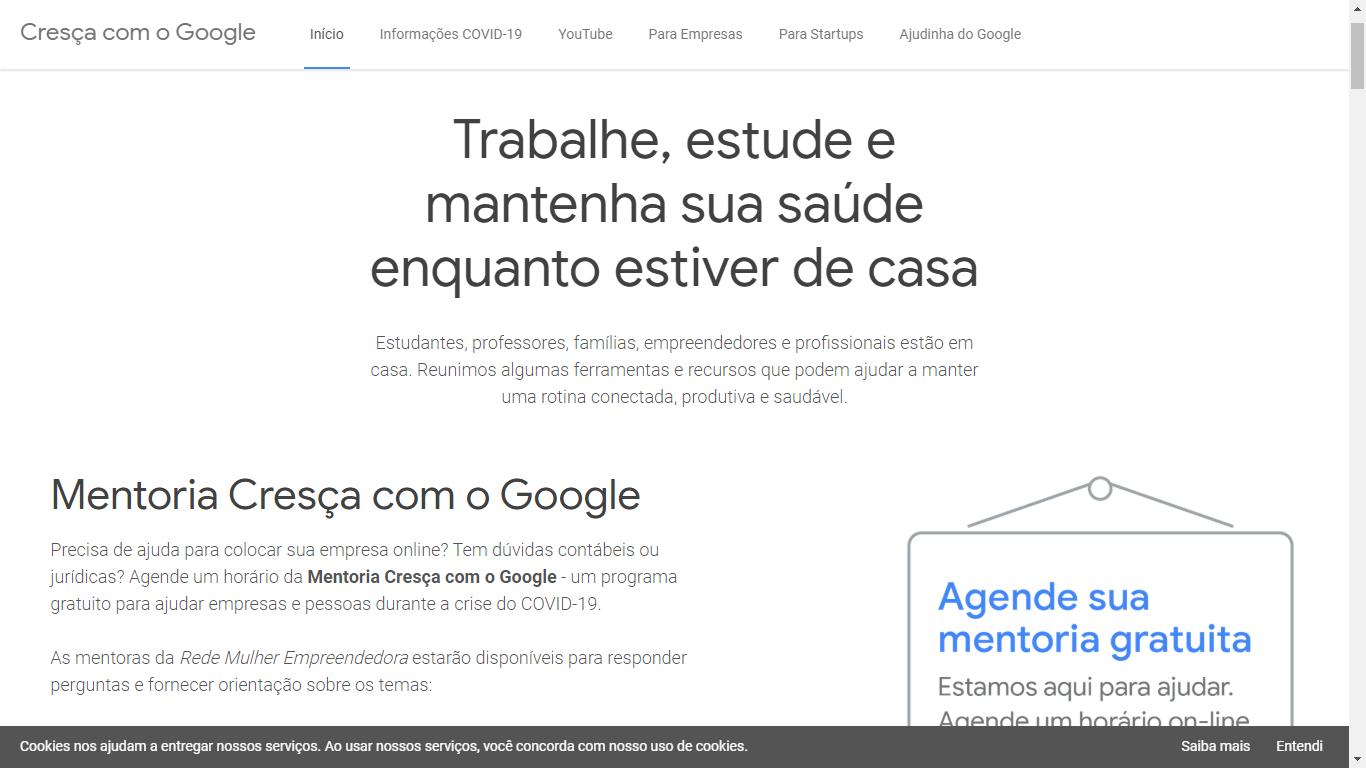 Google abre 5 mil novas vagas para mentorias on-line e gratuitas com PMEs - Na Rede   Na Rede