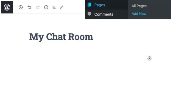 Como criar salas de bate-papo no WordPress para seus usuários 3