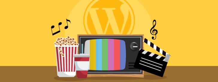 Temas de entretenimento para WordPress